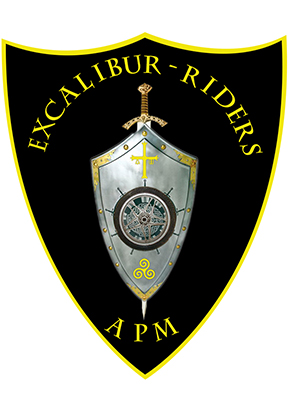 Logotipo Excalibur riders