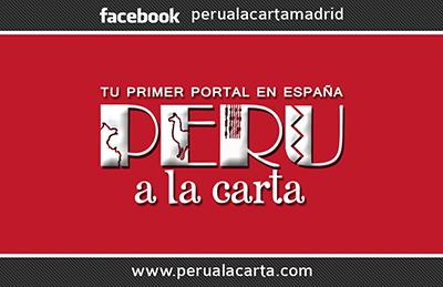 Tarjetas Perú a la carta
